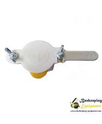 Honey valve plastic 1  1/2'' (3.81cm) white