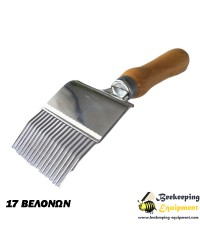 Uncapping fork wooden