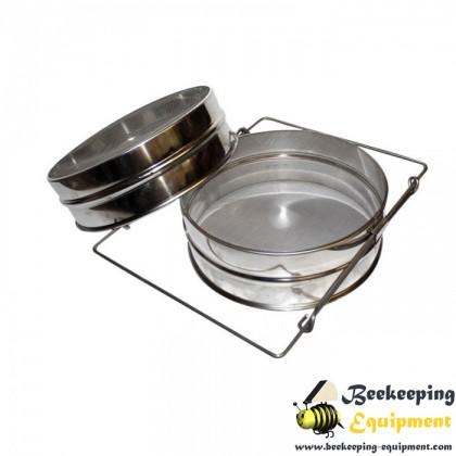 Stainless steel honey filter 24cm
