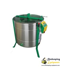 Radial honey extractor with 4+12 frames