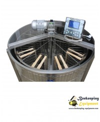 Cassette honey extractor with 20 frames - automatic full inox