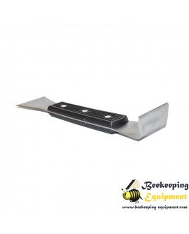 Hive tool stainless steel with plastic handle