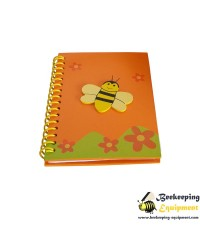 Notebook with bee