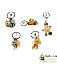 Key ring bee