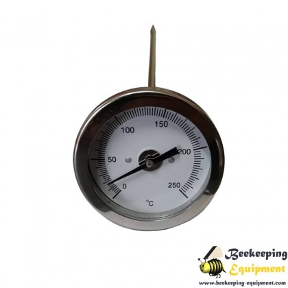 Industrial thermometer for paraffin
