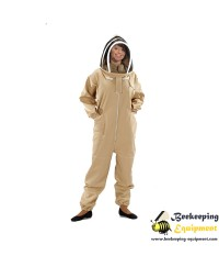 Beekeeping suit astronaut