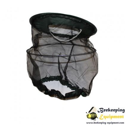 Beekeeping veil waterproof green