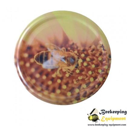 Twist Lid Bee On Pollen