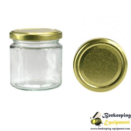 Glass honey jar 212 ml