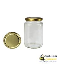Glass honey jar 720 ml