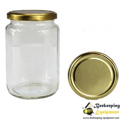 Glass honey jar 720 ml New